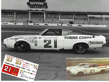CD_893 #21 Cale Yarborough  1969 Ford Torino Cobra   1:25 scale decals