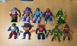 He-Man Lot Vintage MOTU Masters Of The Universe Accessories complete figures