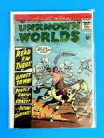 UNKNOWN WORLDS #42 ACG AMERICAN COMICS GROUP COMICS 1965 VG/FN