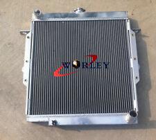 Radiador de aluminio de 56mm para Toyota Land Cruiser 75 Series HZJ75 1990-2001