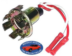 GM Park Tail Stop Turn Signal Side Light Lamp Bulb Wiring Harness Socket D27