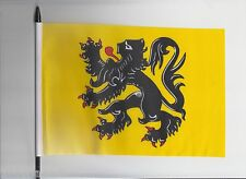 Belgium Flanders Medium Hand Waving Flag