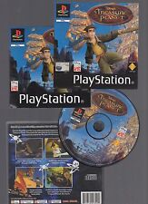 (-0-) DISNEY'S TREASURE PLANET PS1 Game Complete PAL U.K. with Instructions