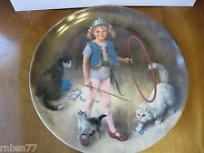 Maggie The Animal Trainer by John McClelland Collector Plate 1983 Reco