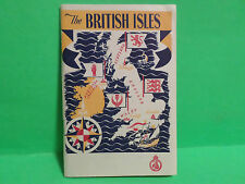 1949 THE BRITISH ISLES TOURIST TRAVEL BOOK BY THE TRAVEL ASSOCIATION