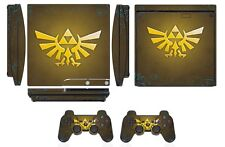 Skin Sticker Cover for PS3 PlayStation 3 Slim and 2 controller skins Zelda Q255