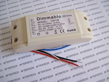DRIVER DIMMERABILE DIMMABILE LED 10 11 12 13 x 1w  INPUT 220v VARIATORE LUCE D21