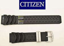 Citizen 20mm Eco-Drive AQUALAND  DIVERS Rubber Watch Band BJ2000-09E BJ2000-09E