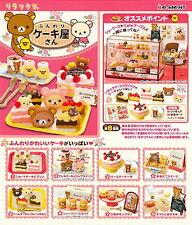 Miniatures SAN-X Rilakkuma Cake shop  - Re-ment  ,  #ok