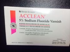 Dental 5% Sodium Fluoride Varnish, Bubble Gum Flavor 50/Box made in USA