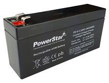 Quantum Turbo / Battery 2 Replacement Power Cell PS-832 8 VOLT 3.2AH POWERSTAR