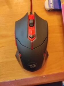 Redragon M601-3 Centrophorus (USED) Gaming Mouse LED Light Drag Click