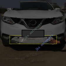 For Nissan Qashqai 2015-17 Metal Front Bumper Lower Mesh Grille Grill Vent Hole