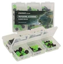 Energo Team Rubber Beads ca. 250 Stück/Packung Gummiperlen Gummiperle Stopper