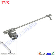 Reusable Stainless Steel Biopsy Needle Guide for HP C9-4V, Warranty:12 months