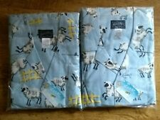 Original Nick & Nora 100% Cotton Counting Sheep TWIN PACK XL UK 18+ Pyjamas