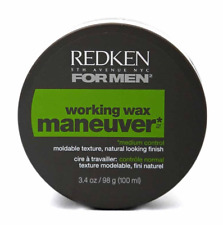 Redken For Men Working Wax Maneuver Medium Control 3.4 Oz.
