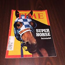 1973 Secretariat Super Horse Time Magazine  rare