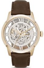** nuevo ** Para hombres Reloj Fossil ciudadano Automático Cuero Esqueleto-ME3043 PVP £ 249