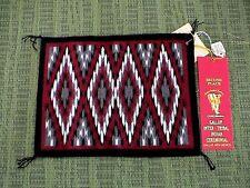 Auth.Native American Indian Navajo Mini Prize Winner Dazzler Rug by Matilda Bia