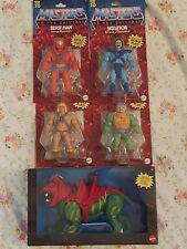 Masters of the Universe 2020 He-man retro play battle cat lot