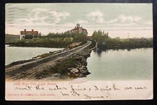 1906 St Johns Newfoundland Picture Postcard Cover To Rochester NY USA Cape Breto