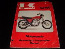 OEM Kawasaki Assembly & Preparation Manual KZ400 KZ 400 B2 99931-1029-01