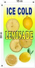 15 X 30 Vinyl Banners Lemonade Drink With Fruit Choose Fruit Flavor New