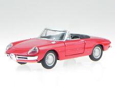 Alfa Romeo Spider Duetto 1966 red modelcar 43211 Bburago 1:32