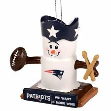 New England Patriots Smores Christmas Tree Ornament We Want Smore Wins Thematic