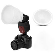 Clear image Cloud lambency flash diffuser+White dome cover and fits all flashes