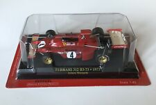 Ferrari F1 Collection 1:43 312B3-73 Arturo Merzario 1973 NO Spark Minichamps