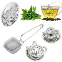 Loose Tea Infuser Leaf Strainer Filter Diffuser Herbal Spice Stainless Steel