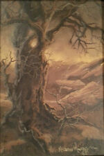 Roxanne Moore painting Casein, Original tree