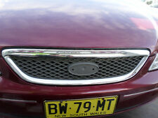 2002 Ford BA Fairmont Falcon Chrome Grill **missing the badge**S/N# V6663 BF6470