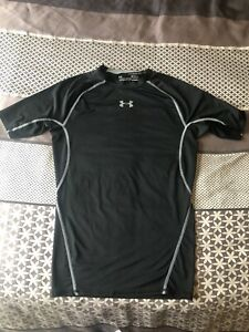 Under Armour Mens Compression Short Sleeved Top Medium