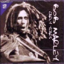 Bob Marley Early Years Coffret 4 CD Neuf sous cellophane
