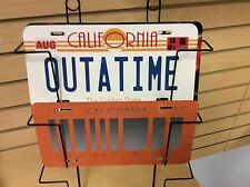 Back To The Future Outatime 1& 2 Vanity Novelty license plates Made In The Usa