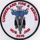 Cumberland Fire & Rescue Hog Jam 2015 Firefighter Fire Patch