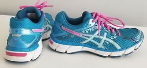 Asics Women's Gel‑Excite 3 Running Shoes Blue/Pink Size 9