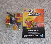 G.i. Joe Kreo BLOWTORCH Figure New Misp Kreon Kre-o Micro Changers