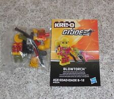 G.i. Joe Kreo BLOWTORCH Figure New Misp Kreon Kre-o Micro Changers