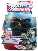 Transformers Animated Deluxe Class Samurai Prowl Action Figure NEW MOSC 2008