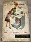 Frigidaire electric range 1947 advertsing manual cookbook vintage ephemera  photo