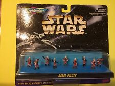 NIP Star Wars Micro Machines Galoob 1996: Rebel Pilots