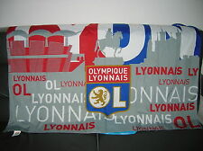 DRAPEAU FOOTBALL O.L / LYON 130 cm x 100 cm