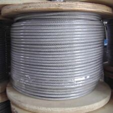 PVC Coated 3/32 Cable 5000 ft Spool (Uses - Key Lock Cable)