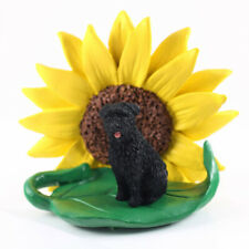 Bouvier Sunflower Figurine Uncropped