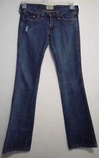 Frankie B Jeans  Stretch Denim Sexy Low Rise Distressed Pants size 4  (2)