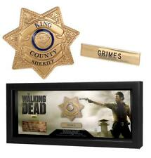 The Walking Dead Sheriff Rick Grimes Badge and Name Tag Prop Replica